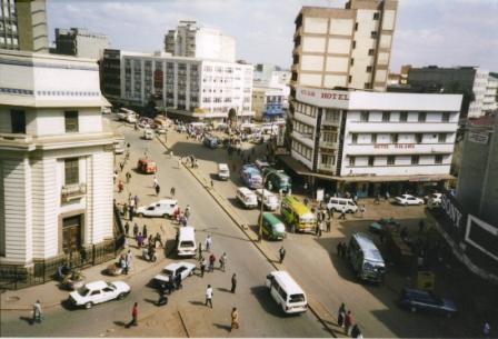Bustling Nairobi