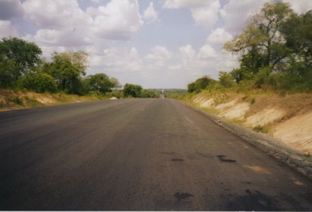 Road to central Tanzania