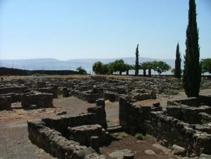Village homes in Capernaum