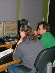 Mark and Martin editing