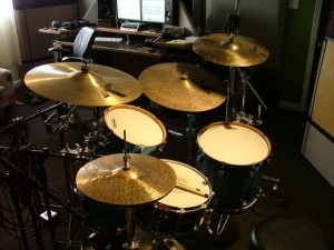 The ayotte drum kit we used
