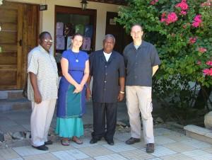 Rev. Seth Gidiony and Hon.Hezekiah Ndahani Chibulunje