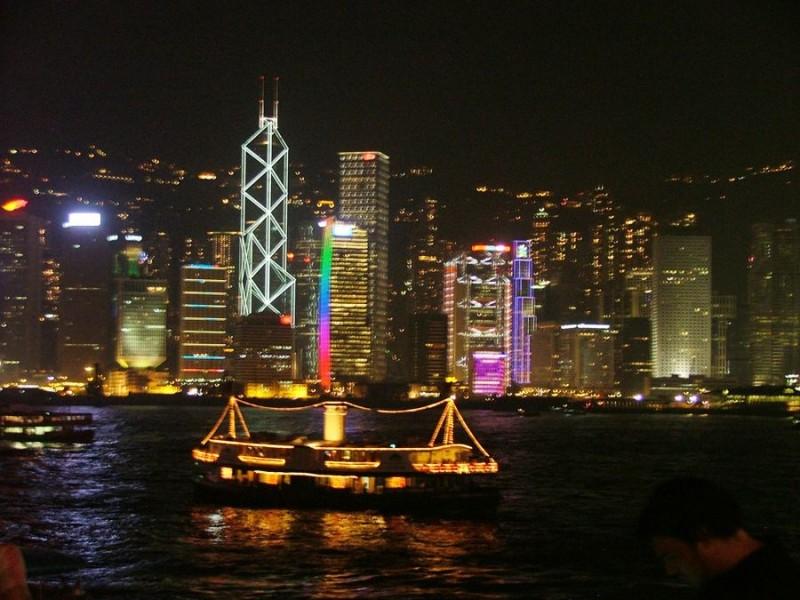 Hong Kong harbour 2