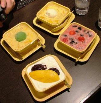 Hong Kong - mmmh pudding!!