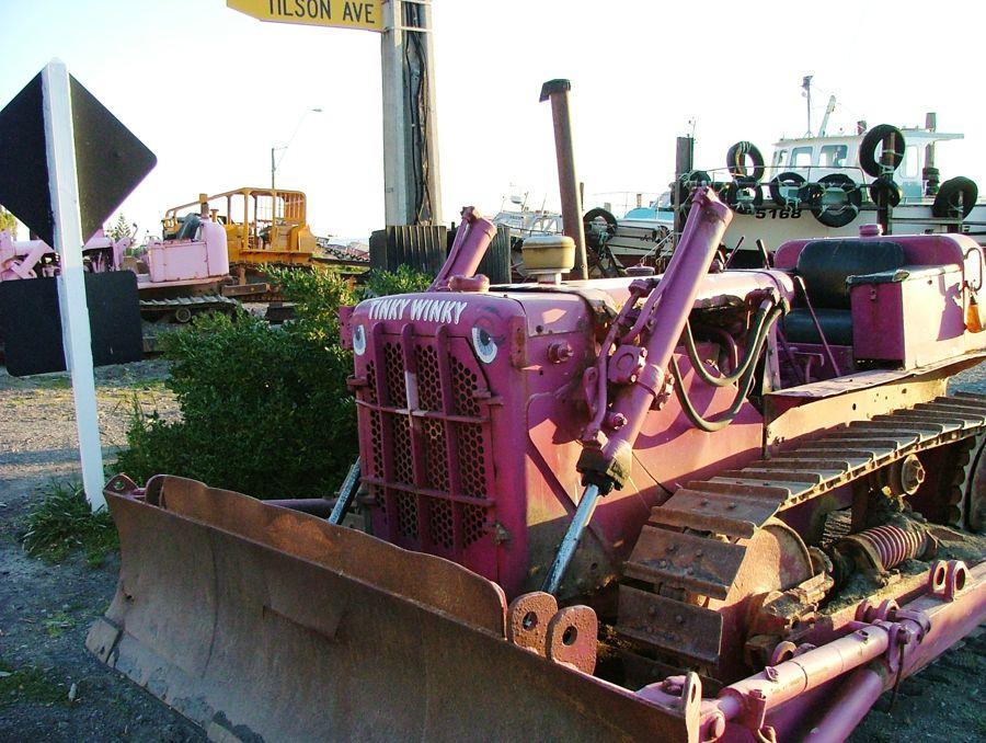 Tinky winky tractor!