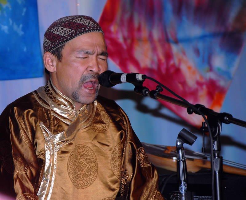 Tuvan singer