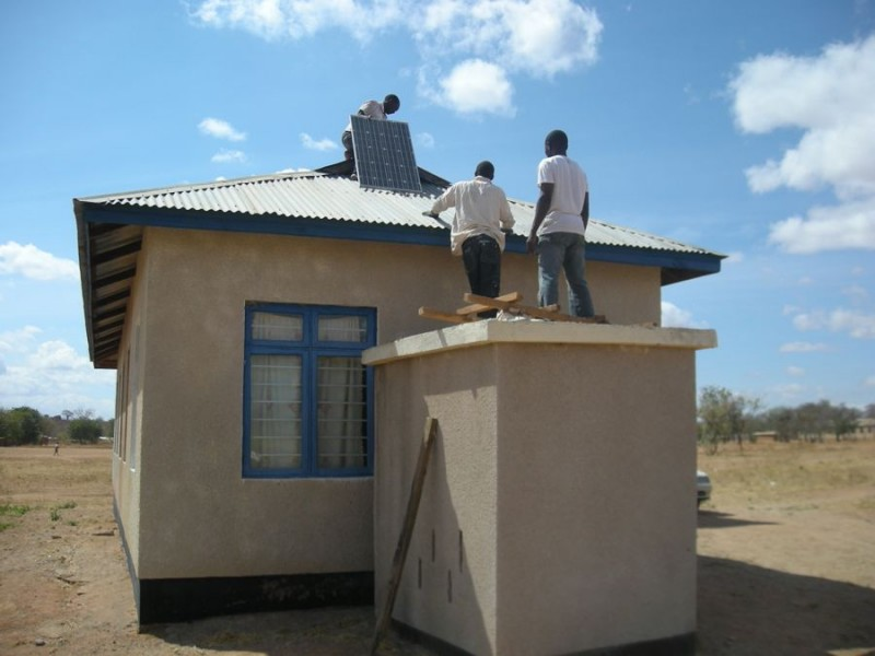Mnase dispensary solar setting 16