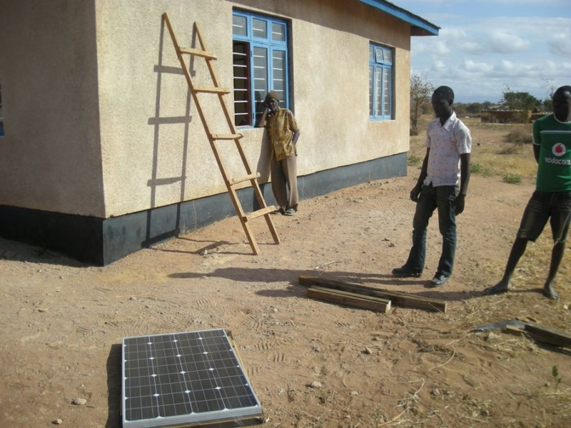 Mnase dispensary solar setting 3