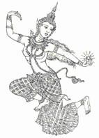 Khmer figure