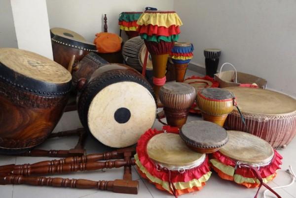 Khmer drums