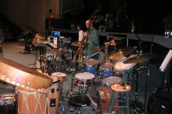 Kit used with Jerry Chapman's Native drums