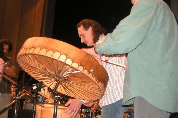 Jerry Chapman's Native drums