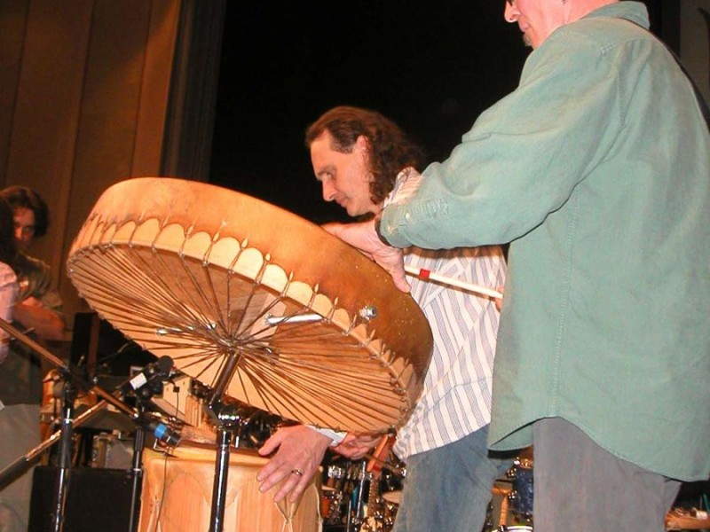Jerry Chapman's Native drums