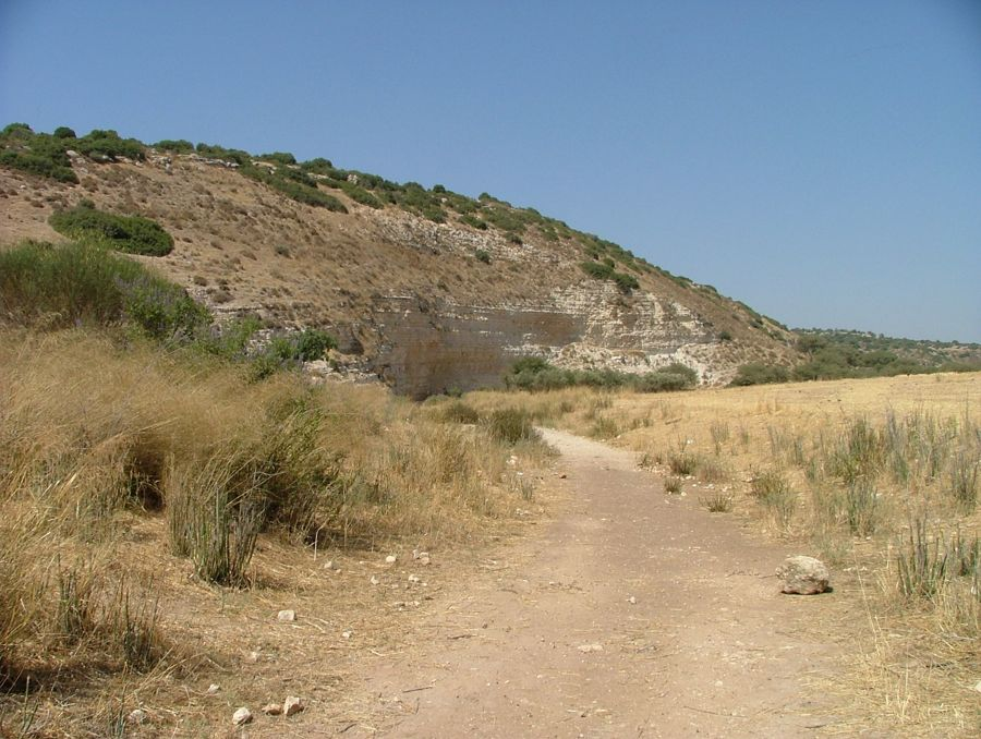 River basin believed to be where David picked up his 5 pebbles to fight Goliath
