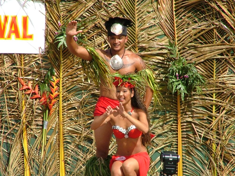Kauai Festival dancers 3