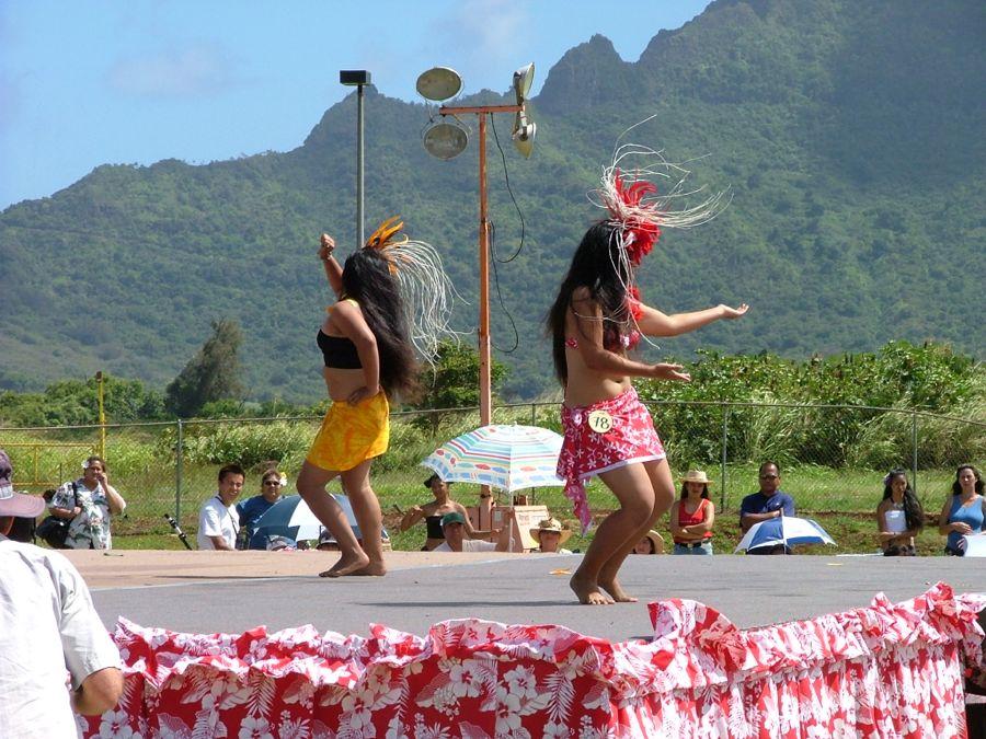 Kauai Festival dancers