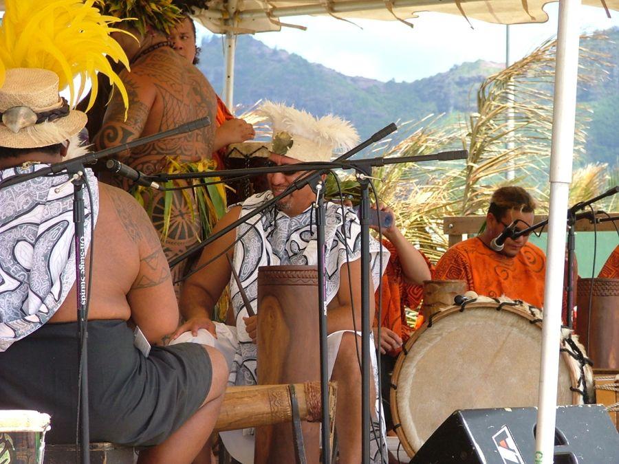 Tahitian drummers 5JPG