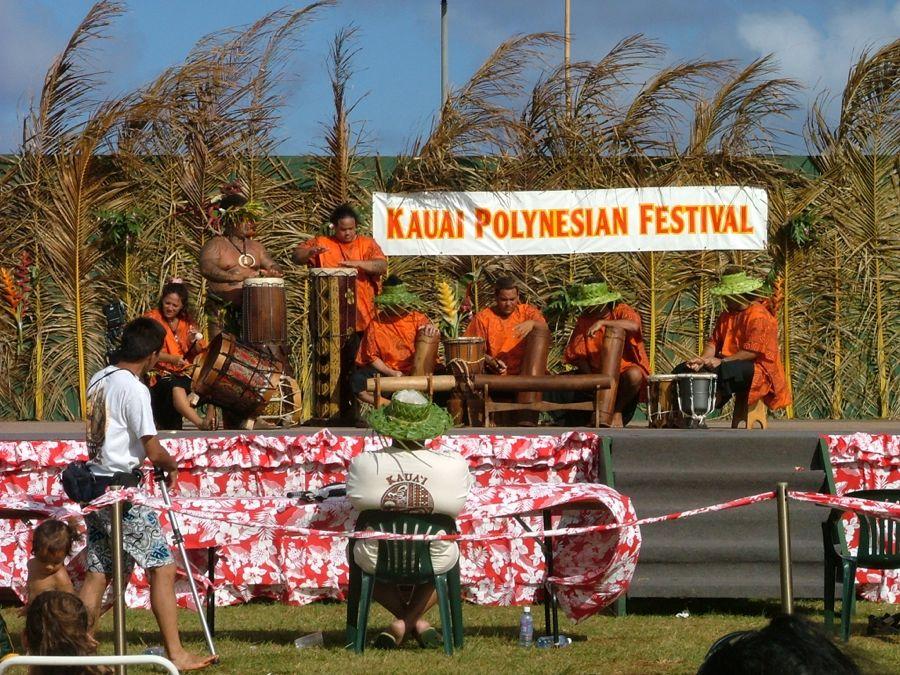 Tahitian drummers Festiv