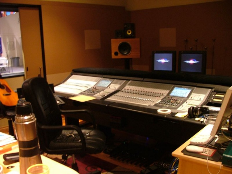 Third Ear control room