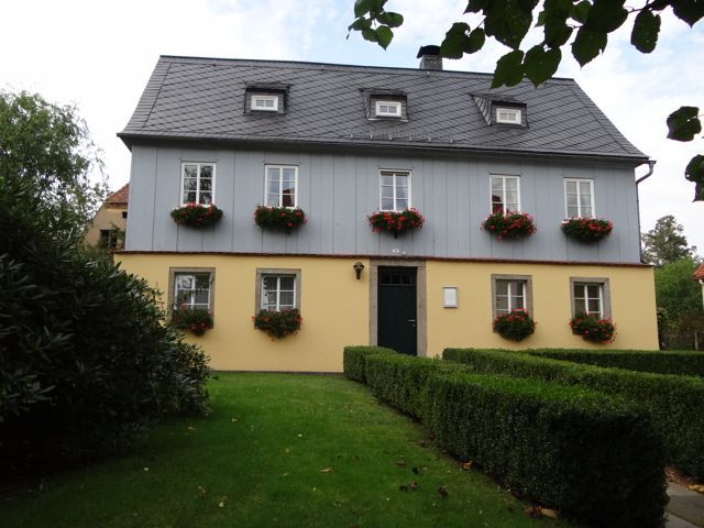 First building to be built in Herrnhut