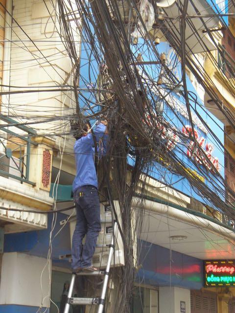 Vietnam electrician