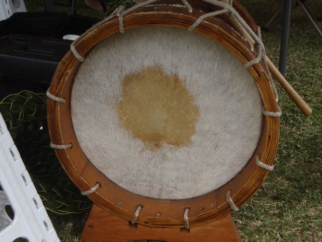 Coconut Festival - Tahitian drums